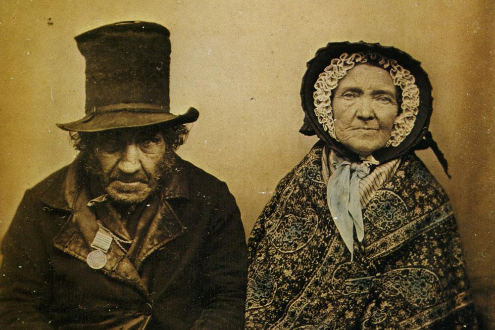 1860_Anonyme_Un_vétéran_et_sa_femme_Ambrotype