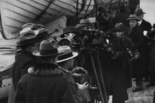 Press Photographers, 1929, - Bundesarchiv Bild 102-08739