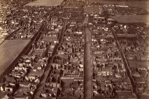 Edizioni_Esposito_(Italian,_active_1870s_-_1890s)_-_(Model_of_the_excavated_ruins_at_Pompeii)_-_Google_Art_Project
